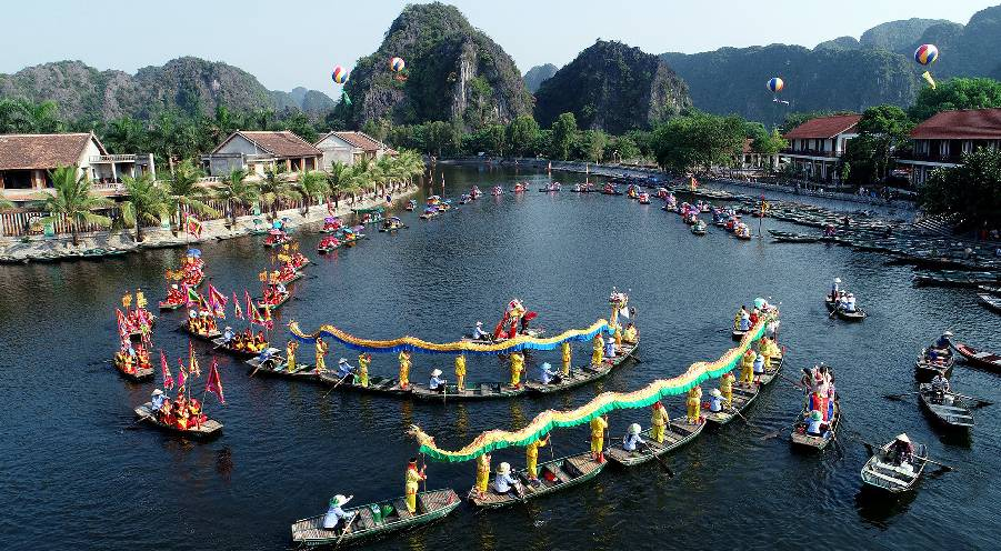 Ninh Binh Tourism Week 2019 – Opportunity to admire the golden Tam Coc