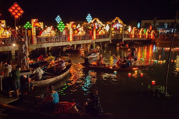 The best time to visit Hoi An is from February to April