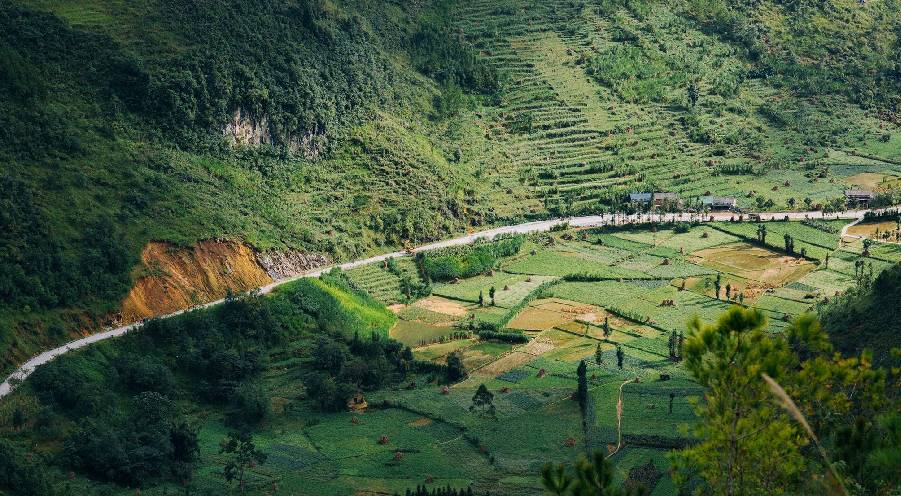 Lo Lo Chai, the fairy village among rocky mountain at Vietnam's North Pole