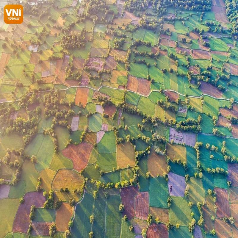 THE LANDSCAPE OF VIETNAM FROM ABOVE-1