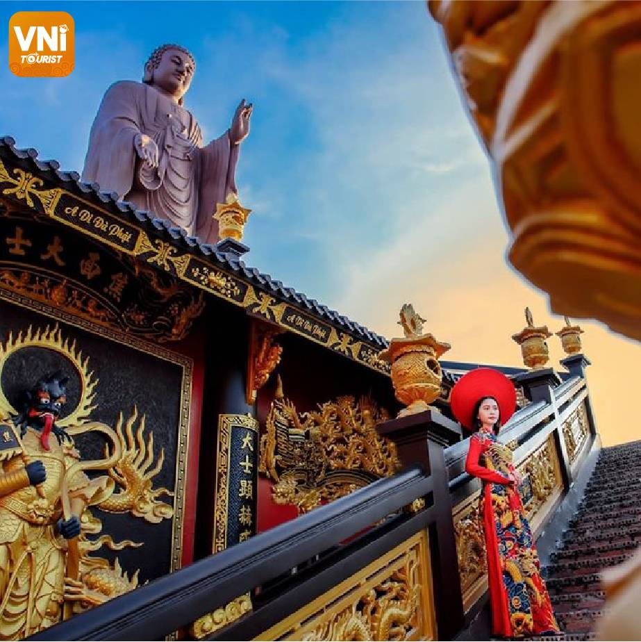 KIM TIEN PAGODA, AN GIANG-THE BEAUTIFUL DESTINATION AS IN HISTORICAL FILM