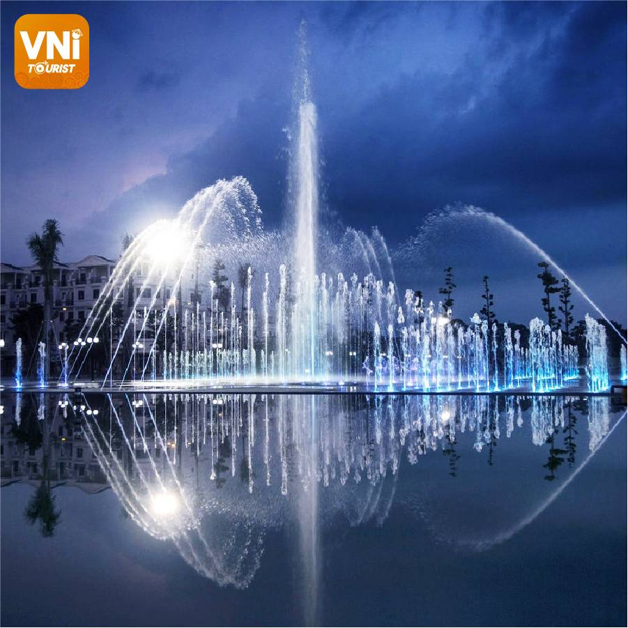 Hoa Binh Water Music Square officially opened in Saigon