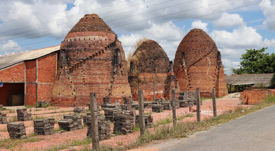 The hundred-year-old kingdom of bricks in the SouthWest, Vietnam